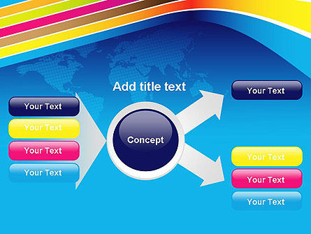 Colorful World PowerPoint Template Slide 14