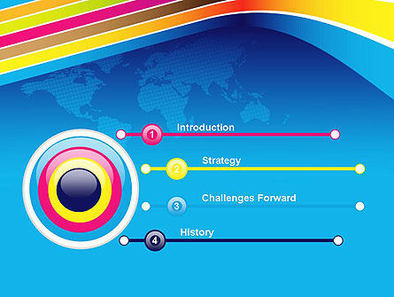Colorful World PowerPoint Template Slide 3
