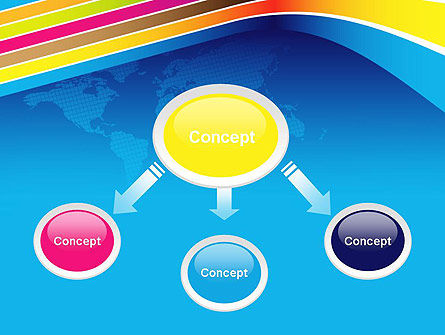 Colorful World PowerPoint Template Slide 4