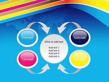 Colorful World PowerPoint Template Slide 6