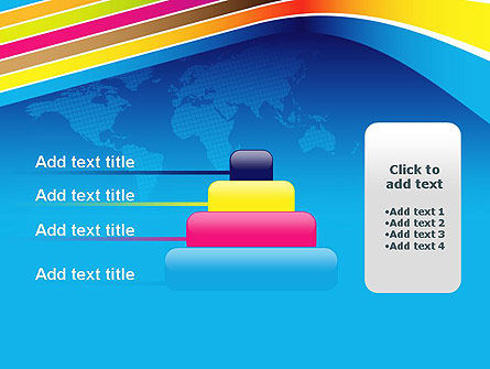 Colorful World PowerPoint Template Slide 8