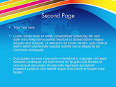 Colorful World PowerPoint Template#2