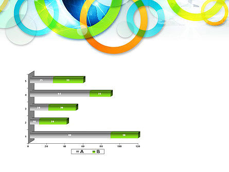 Cool Presentation with Rings PowerPoint Template Slide 11