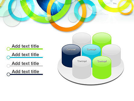 Cool Presentation with Rings PowerPoint Template Slide 12