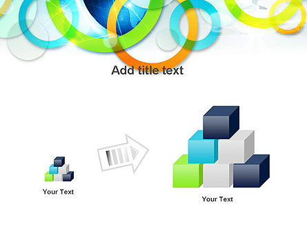 Cool Presentation with Rings PowerPoint Template Slide 13