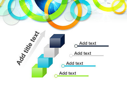 Cool Presentation with Rings PowerPoint Template Slide 14