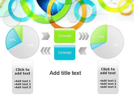 Cool Presentation with Rings PowerPoint Template Slide 16