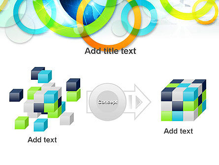 Cool Presentation with Rings PowerPoint Template Slide 17