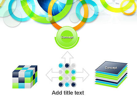 Cool Presentation with Rings PowerPoint Template Slide 19