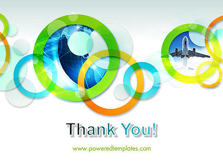 Cool Presentation with Rings PowerPoint Template Slide 20