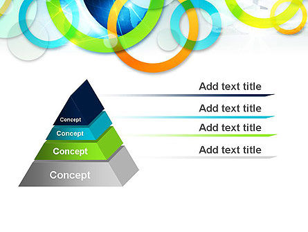 Cool Presentation with Rings PowerPoint Template Slide 4