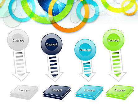 Cool Presentation with Rings PowerPoint Template Slide 8