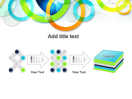 Cool Presentation with Rings PowerPoint Template Slide 9