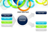 Cool Presentation with Rings PowerPoint Template#15