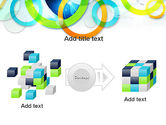 Cool Presentation with Rings PowerPoint Template#17