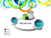 Cool Presentation with Rings PowerPoint Template#6