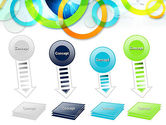 Cool Presentation with Rings PowerPoint Template#8