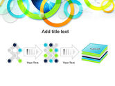 Cool Presentation with Rings PowerPoint Template#9