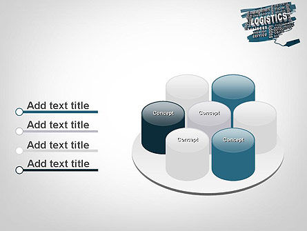Logistics Word Cloud PowerPoint Template Slide 12