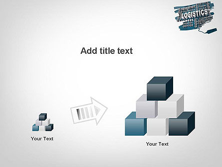 Logistics Word Cloud PowerPoint Template Slide 13