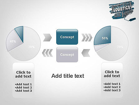 Logistics Word Cloud PowerPoint Template Slide 16