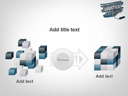 Logistics Word Cloud PowerPoint Template Slide 17