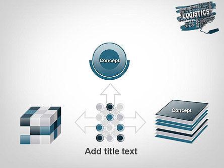 Logistics Word Cloud PowerPoint Template Slide 19