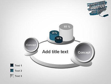 Logistics Word Cloud PowerPoint Template Slide 6
