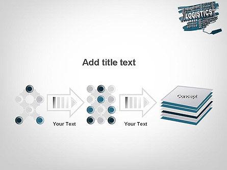 Logistics Word Cloud PowerPoint Template Slide 9