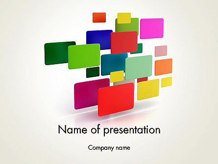 Digital Colors PowerPoint Template