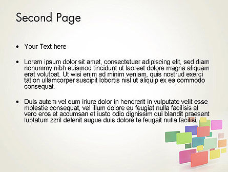 Digital Colors PowerPoint Template Slide 2
