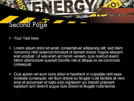 Nuclear Energy Debate PowerPoint Template, Slide 2, 12020, Careers/Industry — PoweredTemplate.com