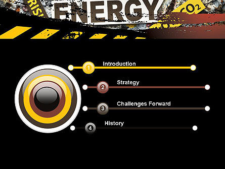 Nuclear Energy Debate PowerPoint Template Backgrounds 12020
