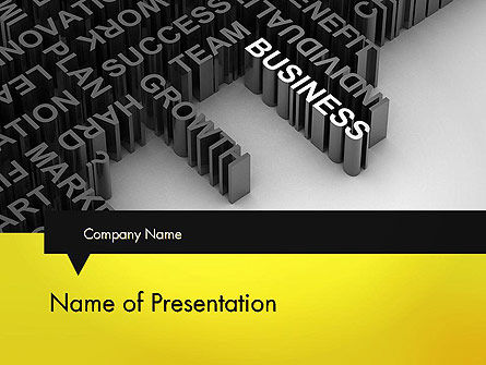 Business Buzzwords PowerPoint Template
