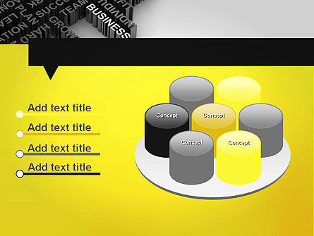 Business Buzzwords PowerPoint Template Slide 12