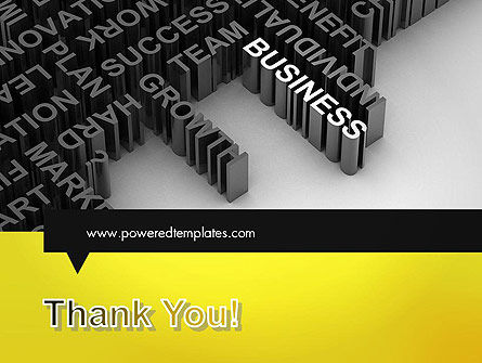 Business Buzzwords PowerPoint Template Slide 20