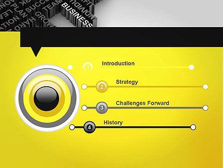 Business Buzzwords PowerPoint Template, Slide 3, 12023, Business Concepts — PoweredTemplate.com