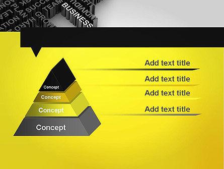 Business Buzzwords PowerPoint Template, Slide 4, 12023, Business Concepts — PoweredTemplate.com