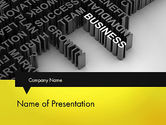 Business Concepts: Business Buzzwords PowerPoint Template #12023