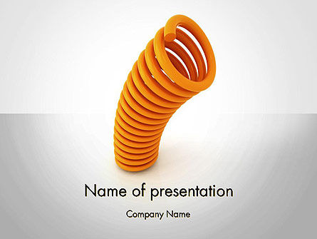 Business Concepts: Templat PowerPoint Memantul Kembali #12024