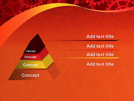 Gears and Cogs PowerPoint Template Slide 12