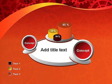 Gears and Cogs PowerPoint Template Slide 16
