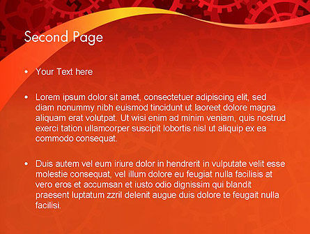 Gears and Cogs PowerPoint Template, Slide 2, 12026, Business Concepts — PoweredTemplate.com
