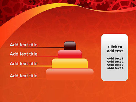 Gears and Cogs PowerPoint Template Slide 8