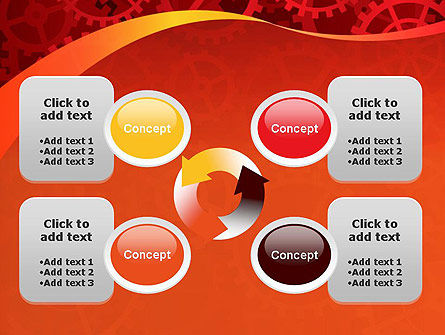 Gears and Cogs PowerPoint Template Slide 9