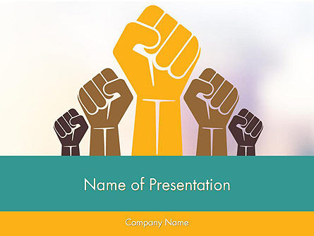 General: Insurrection PowerPoint Template #12029