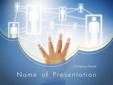 Careers/Industry: Human Resource Management System PowerPoint Template #12032