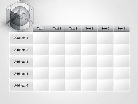 Geometrical PowerPoint Template Slide 15