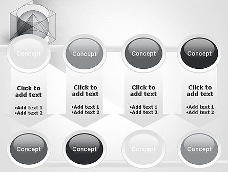 Geometrical PowerPoint Template Slide 18