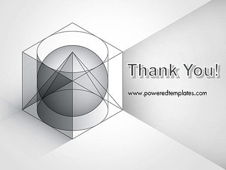 Geometrical PowerPoint Template Slide 20